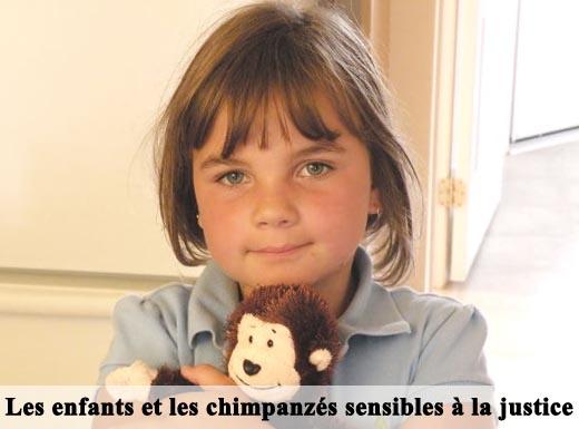 enfant et singe