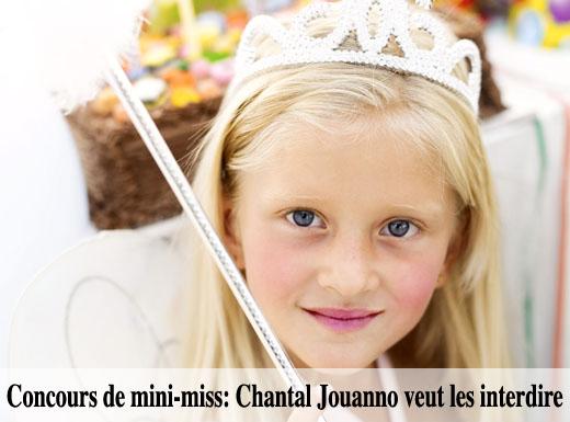 Michel blogue la charte à 2 millions et la non protection des Mini-Miss Hypersexualisation