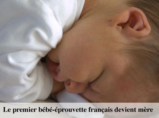 bébé éprouvette mère
