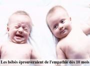 Bébé et empathie