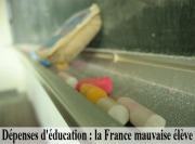 Dépenses d'éducation