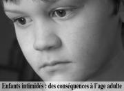 Enfants intimidés