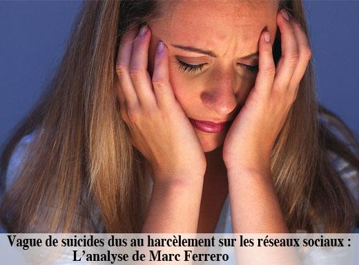 Suicides réseaux sociaux