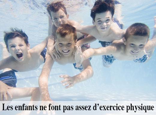 Enfants et exercice